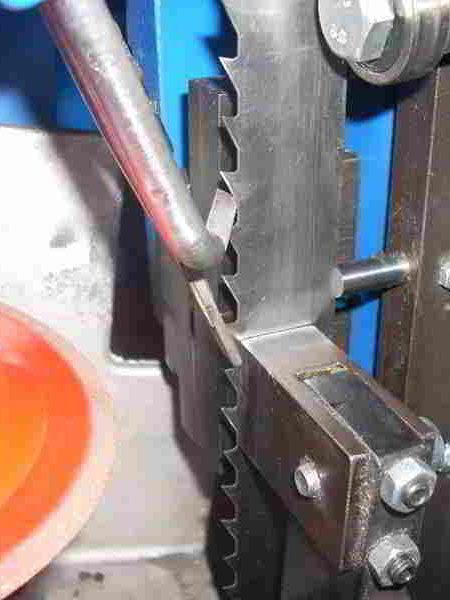 sx80 Schleifmaschine für Bandsägen